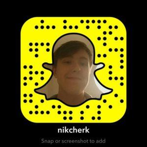 NikCherkSnapchat